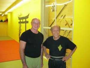 Sifu Lo Man Kam und Michael Stapel